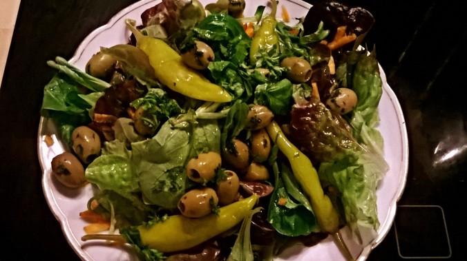 schneller leichter Salat